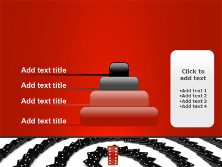 Principle Dominoes PowerPoint Template Slide 8