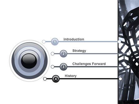 Abstract Construction PowerPoint Template, Slide 3, 09163, Abstract/Textures — PoweredTemplate.com
