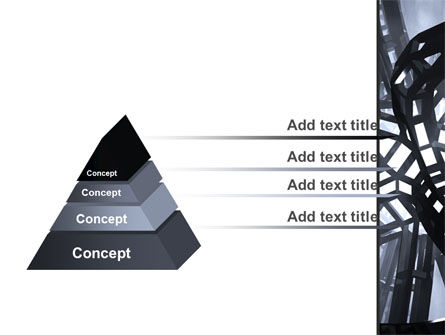 Abstract Construction PowerPoint Template, Slide 4, 09163, Abstract/Textures — PoweredTemplate.com