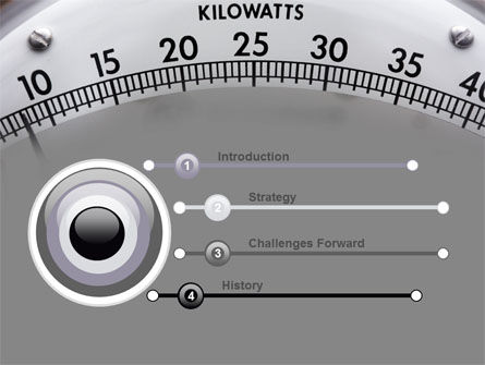 Wattmeter PowerPoint Template, Slide 3, 09165, Utilities/Industrial — PoweredTemplate.com