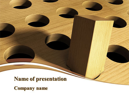 Problems of Compliance PowerPoint Template, 09167, Business Concepts — PoweredTemplate.com
