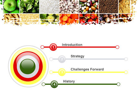 Foodstuffs PowerPoint Template Slide 3