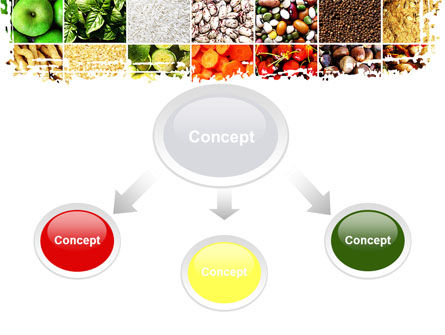 Foodstuffs PowerPoint Template, Slide 4, 09170, Agriculture — PoweredTemplate.com
