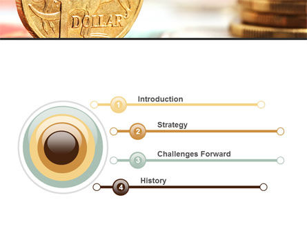 Australian Dollar PowerPoint Template Slide 3