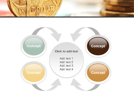 Australian Dollar PowerPoint Template Slide 6