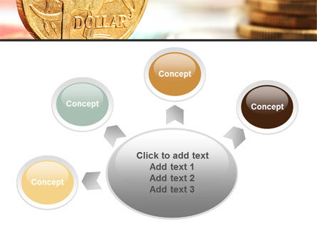 Australian Dollar PowerPoint Template Slide 7