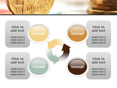 Australian Dollar PowerPoint Template Slide 9