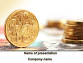 Financial/Accounting: Australian Dollar PowerPoint Template #09172