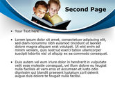 Reading Book in Early Childhood PowerPoint Template#2