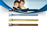 Reading Book in Early Childhood PowerPoint Template#3