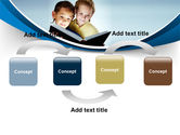 Reading Book in Early Childhood PowerPoint Template#4