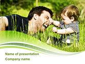 People: Elternschaft PowerPoint Vorlage #09176