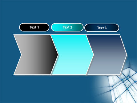 Abstract Blue Construction PowerPoint Template Slide 16