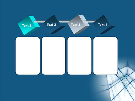 Abstract Blue Construction PowerPoint Template Slide 18