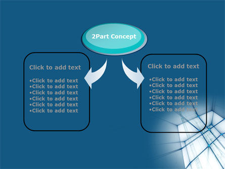 Abstract Blue Construction PowerPoint Template Slide 4