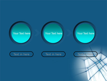 Abstract Blue Construction PowerPoint Template Slide 5