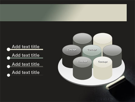Blackboard and Chalk PowerPoint Template Slide 12