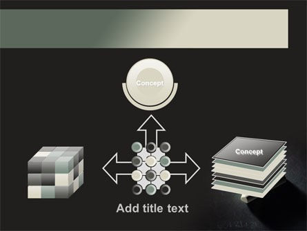 Blackboard and Chalk PowerPoint Template Slide 19