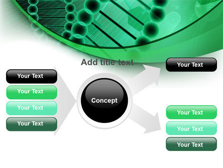 DNA Study PowerPoint Template Slide 14