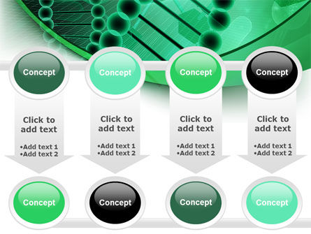 DNA Study PowerPoint Template Slide 18