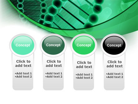 DNA Study PowerPoint Template Slide 5