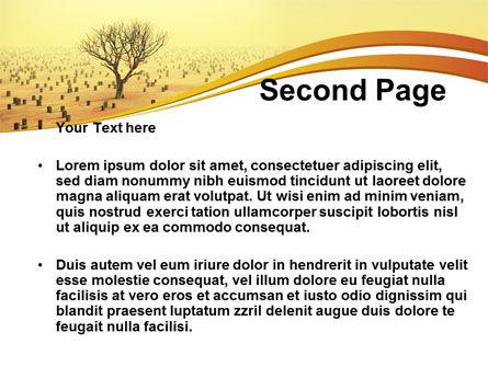 Appearance of Desert PowerPoint Template, Slide 2, 09184, Nature & Environment — PoweredTemplate.com