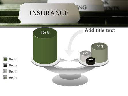 Insurance Tab PowerPoint Template Slide 10