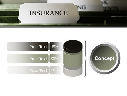 Insurance Tab PowerPoint Template Slide 11