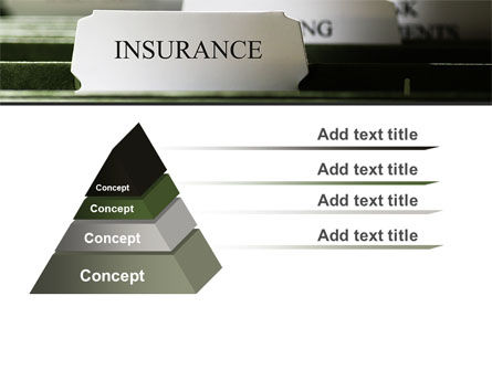 Insurance Tab PowerPoint Template Slide 12