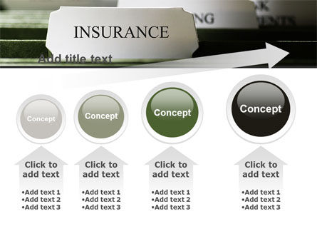 Insurance Tab PowerPoint Template Slide 13