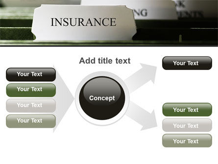 Insurance Tab PowerPoint Template Slide 14