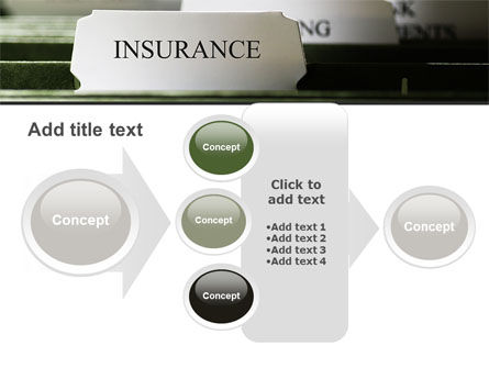 Insurance Tab PowerPoint Template Slide 17