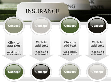 Insurance Tab PowerPoint Template Slide 18
