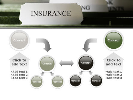 Insurance Tab PowerPoint Template Slide 19
