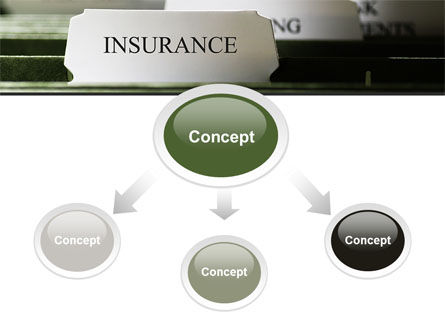 Insurance Tab PowerPoint Template Slide 4