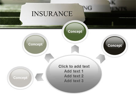 Insurance Tab PowerPoint Template Slide 7