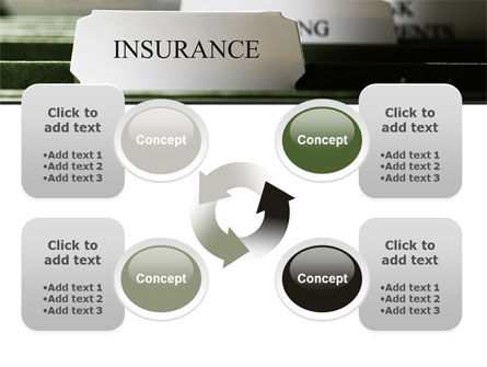 Insurance Tab PowerPoint Template Slide 9