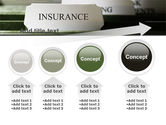 Insurance Tab PowerPoint Template#13
