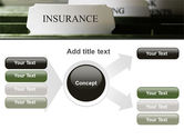 Insurance Tab PowerPoint Template#14