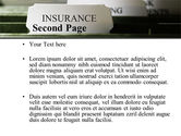 Insurance Tab PowerPoint Template#2