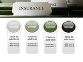 Insurance Tab PowerPoint Template#5