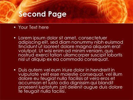 Red Sphere PowerPoint Template, Slide 2, 09186, Technology and Science — PoweredTemplate.com
