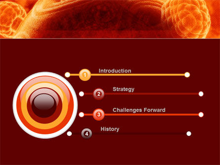 Red Sphere PowerPoint Template, Slide 3, 09186, Technology and Science — PoweredTemplate.com