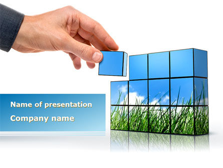 Consulting Efforts PowerPoint Template, 09187, Consulting — PoweredTemplate.com