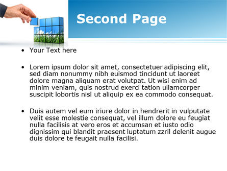 Consulting Efforts PowerPoint Template, Slide 2, 09187, Consulting — PoweredTemplate.com