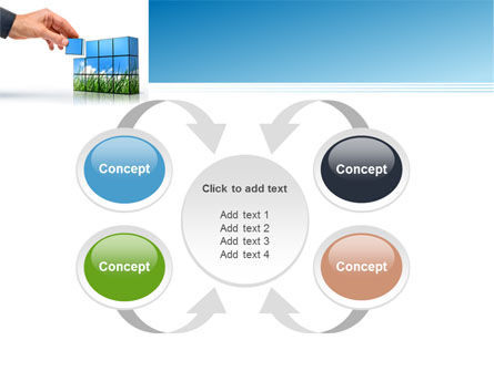 Consulting Efforts PowerPoint Template Slide 6