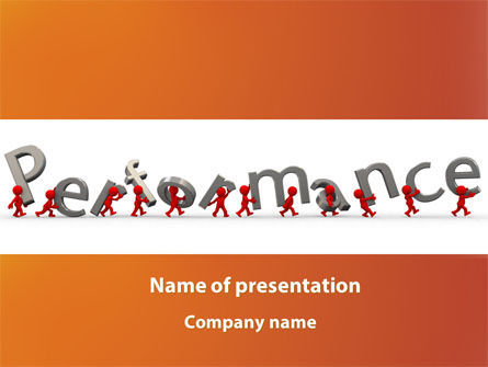 Performance PowerPoint Template, 09190, Consulting — PoweredTemplate.com