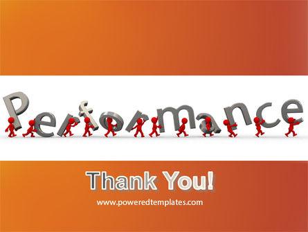 Performance PowerPoint Template Slide 20