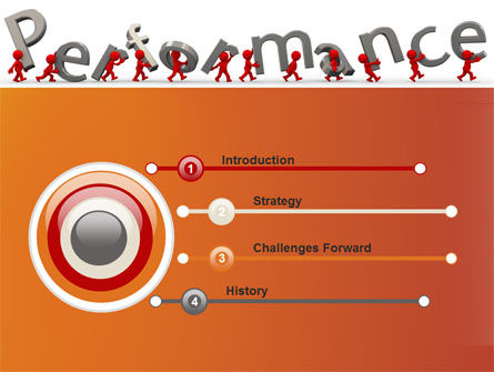 Performance PowerPoint Template, Slide 3, 09190, Consulting — PoweredTemplate.com