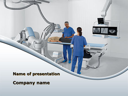 Medical: Tomography Equipment PowerPoint Template #09191